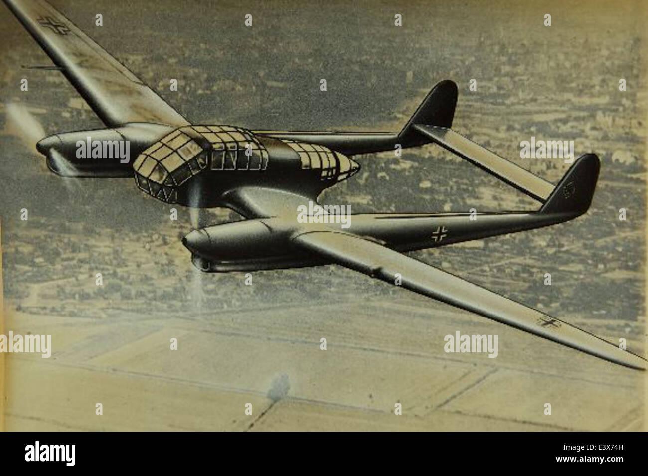Focke-Wulf Fw 189 - Stock Image