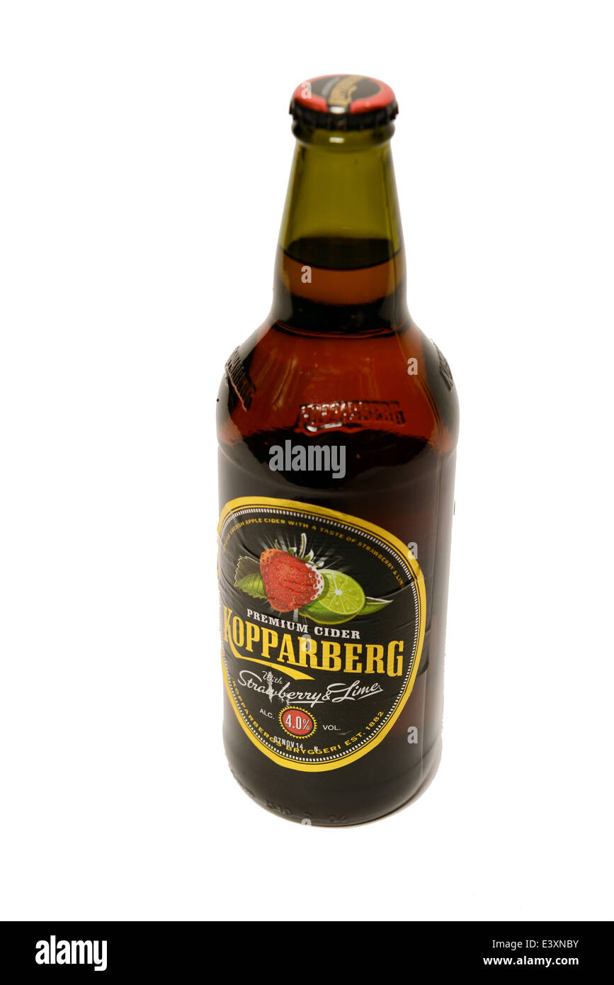 Kopparberg Cider - Stock Image