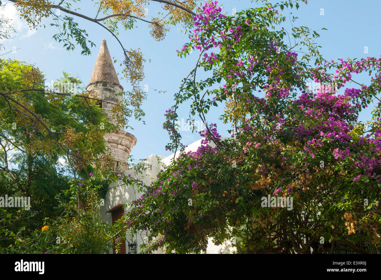 Griechenland, Rhodos-Stadt, Altstadt, Platia Athina, Agios Spiridion (Kavakli-Moschee) - Stock Image