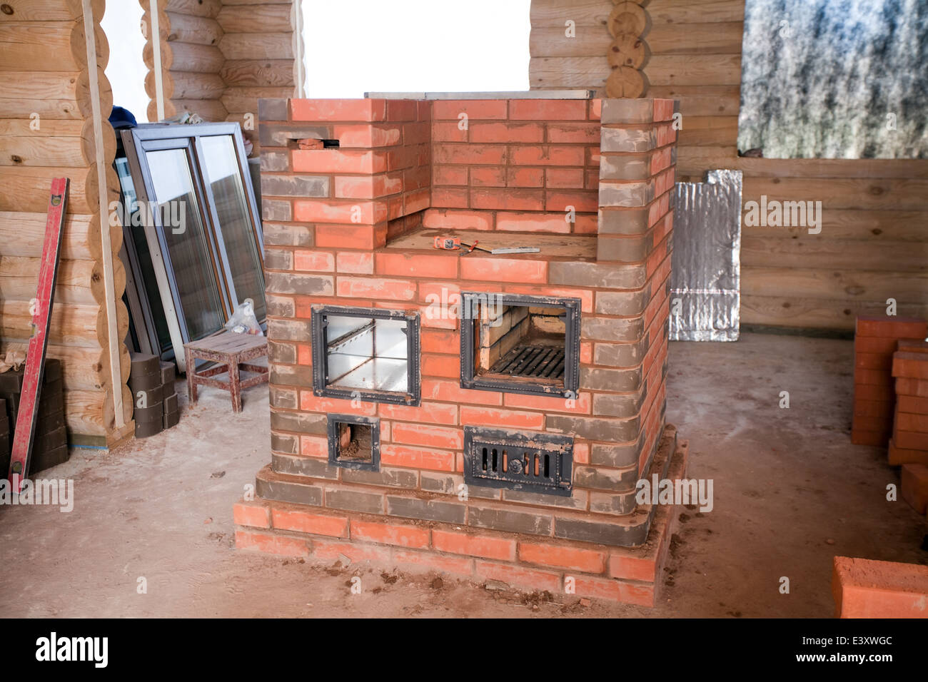 Brick stove for a bath with his own hands. A simple brick stove for a bath 41