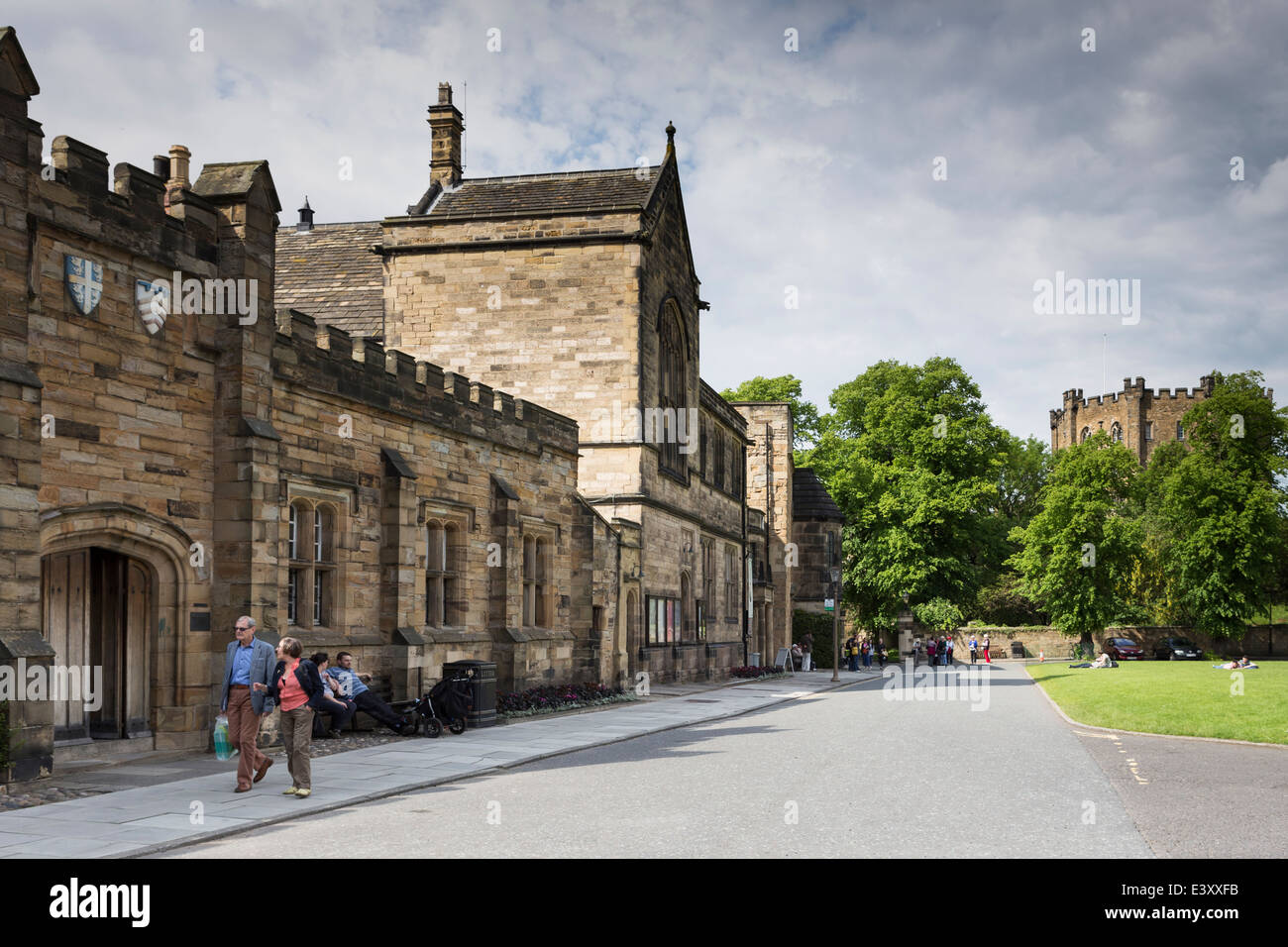 Durham University Palace Green Library - Stock Image