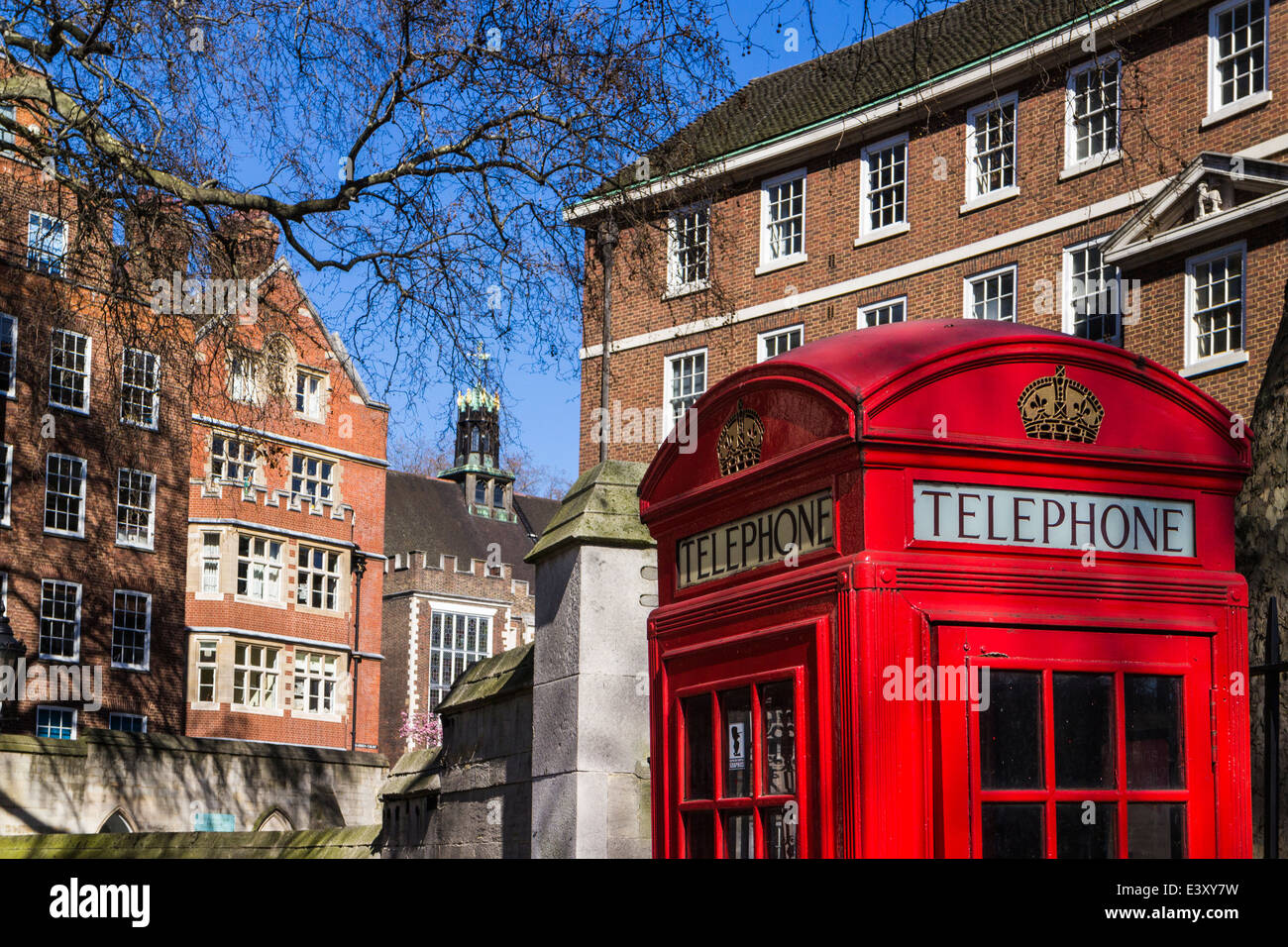Middle Temple one of the Inns of court-London - Stock Image