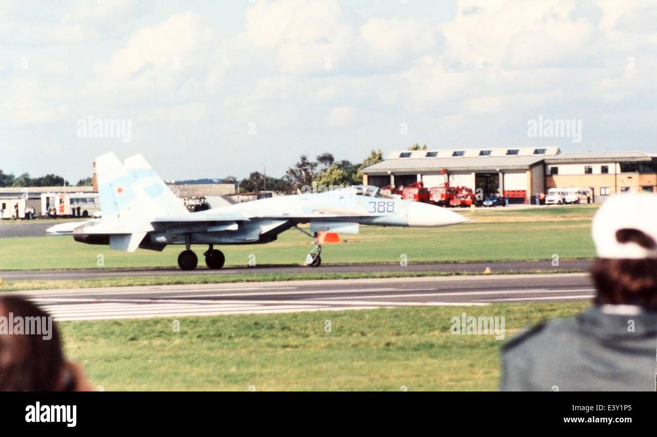 Sukhoi Su-27 Flanker - Stock Image