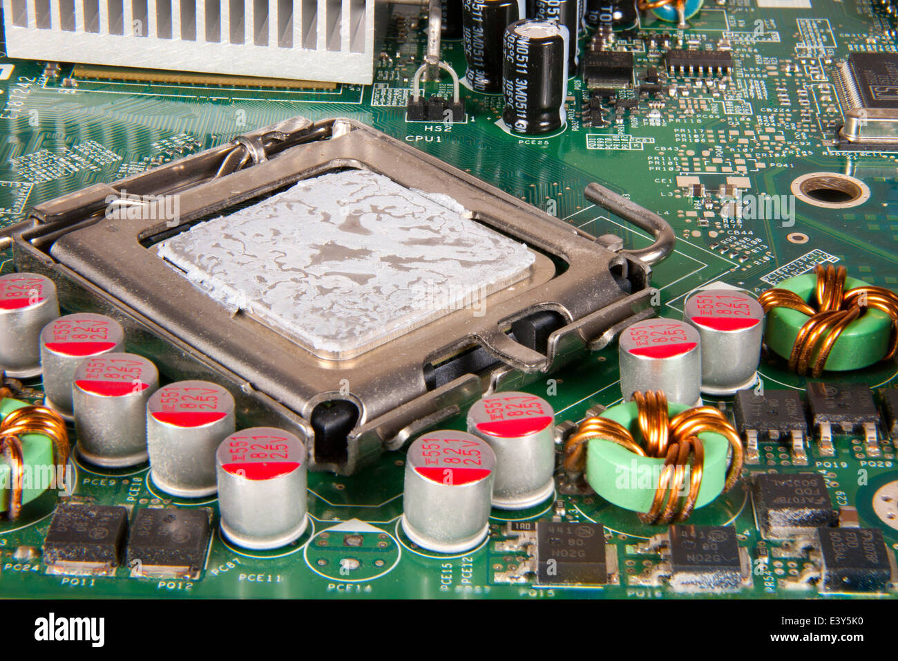 Computer Circuit And Workings Stock Photos & Computer Circuit And ...