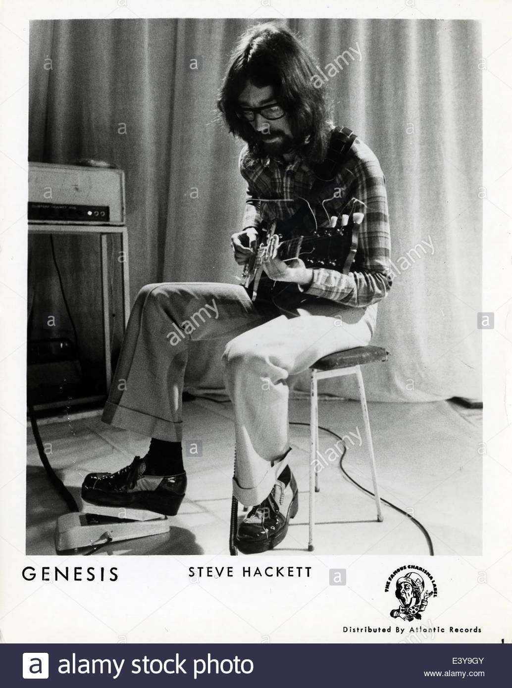 Steve Hackett of Genesis, circa 1970s - Stock Image