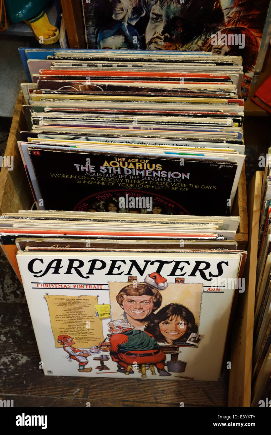Carpenters Christmas Portrait.A Collection Of Lps Including The Carpenters Christmas
