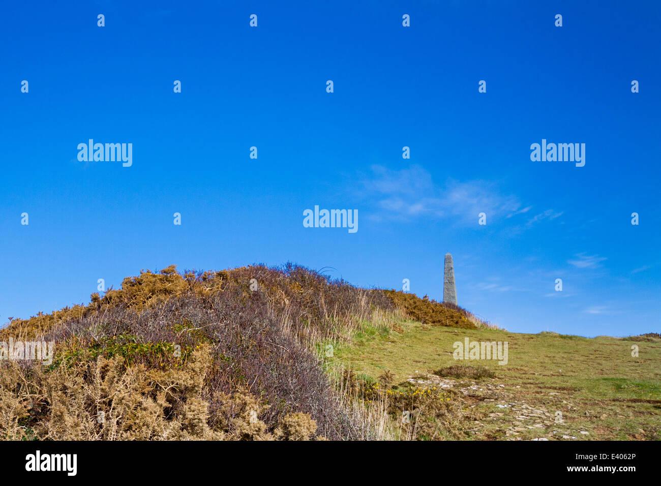 Coastal scene on the Channel Islands - Stock Image