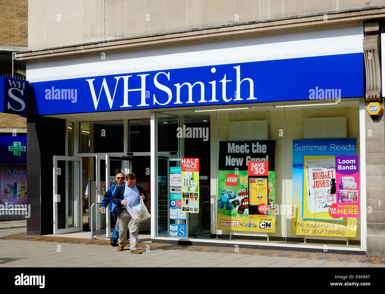 A branch of WH Smith Nottingham England UK - Stock Image