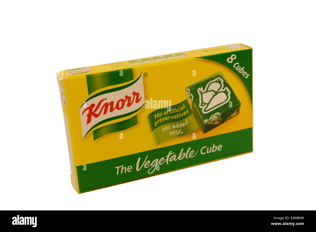 Knorr Stock Cubes - Stock Image