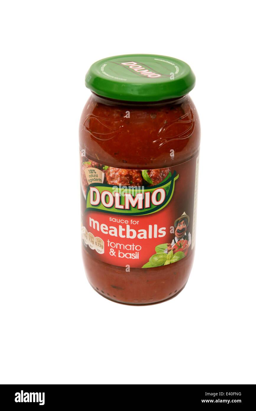 Dolmio Pasta Sauce - Stock Image