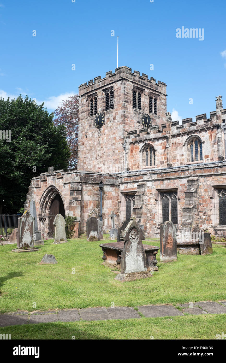 Church of Saint Lawrence, Appleby in Westmorland, Cumbria, UK - Stock Image