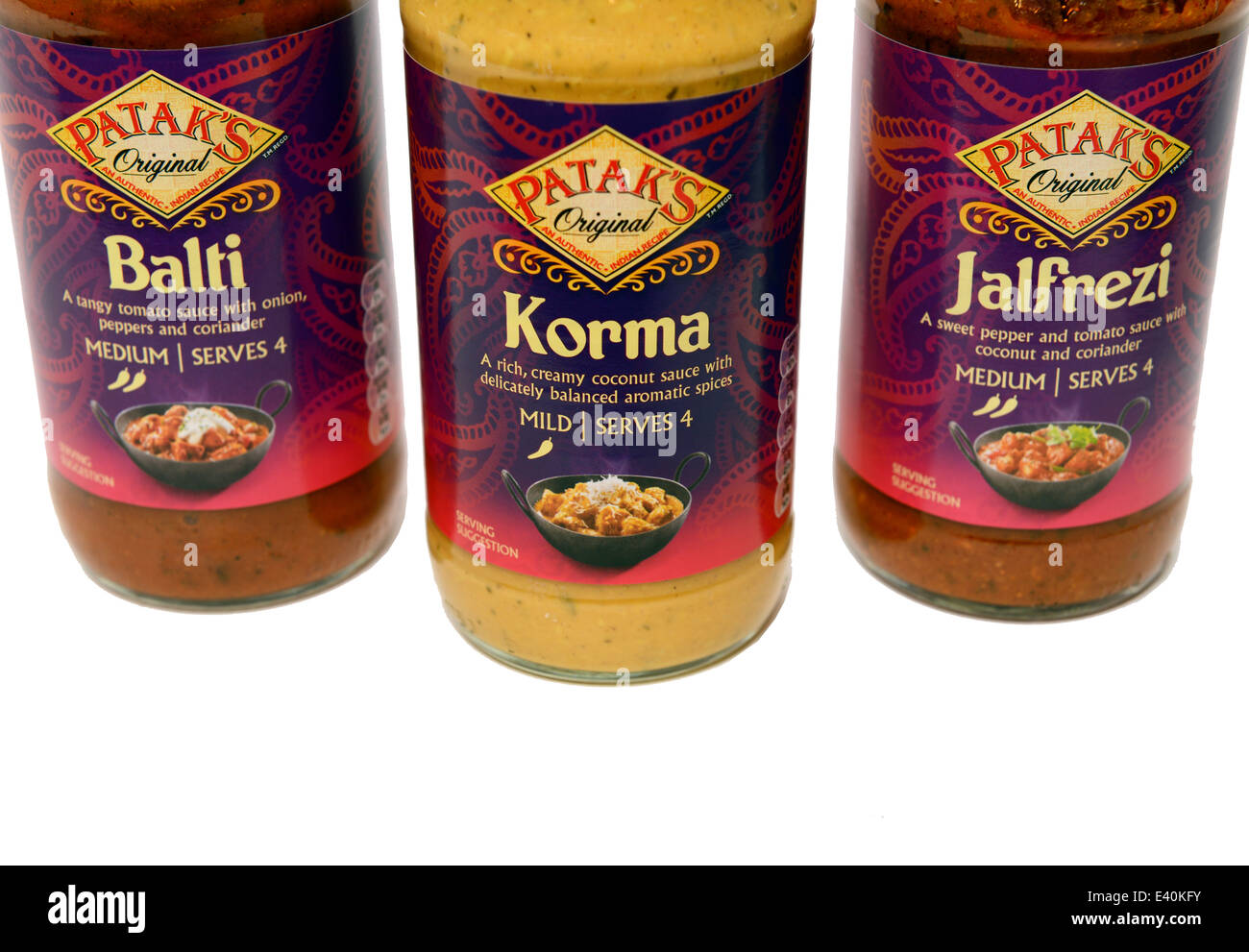 Patak's Curry Sauce - Stock Image