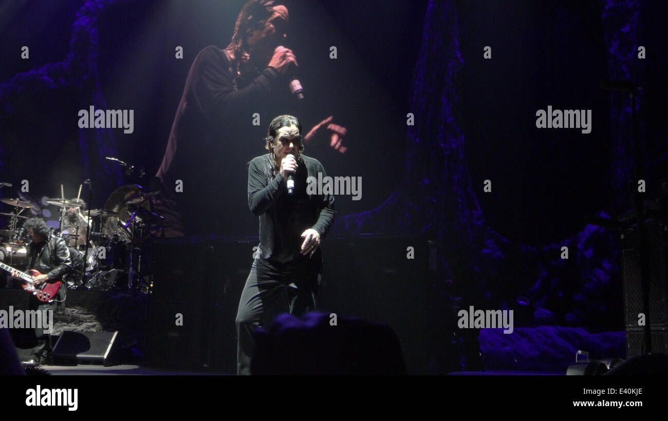 Black Sabbath Performing Live In Concert At The London O2 Arena Featuring Ozzy Osbourne Where London United Kingdom When