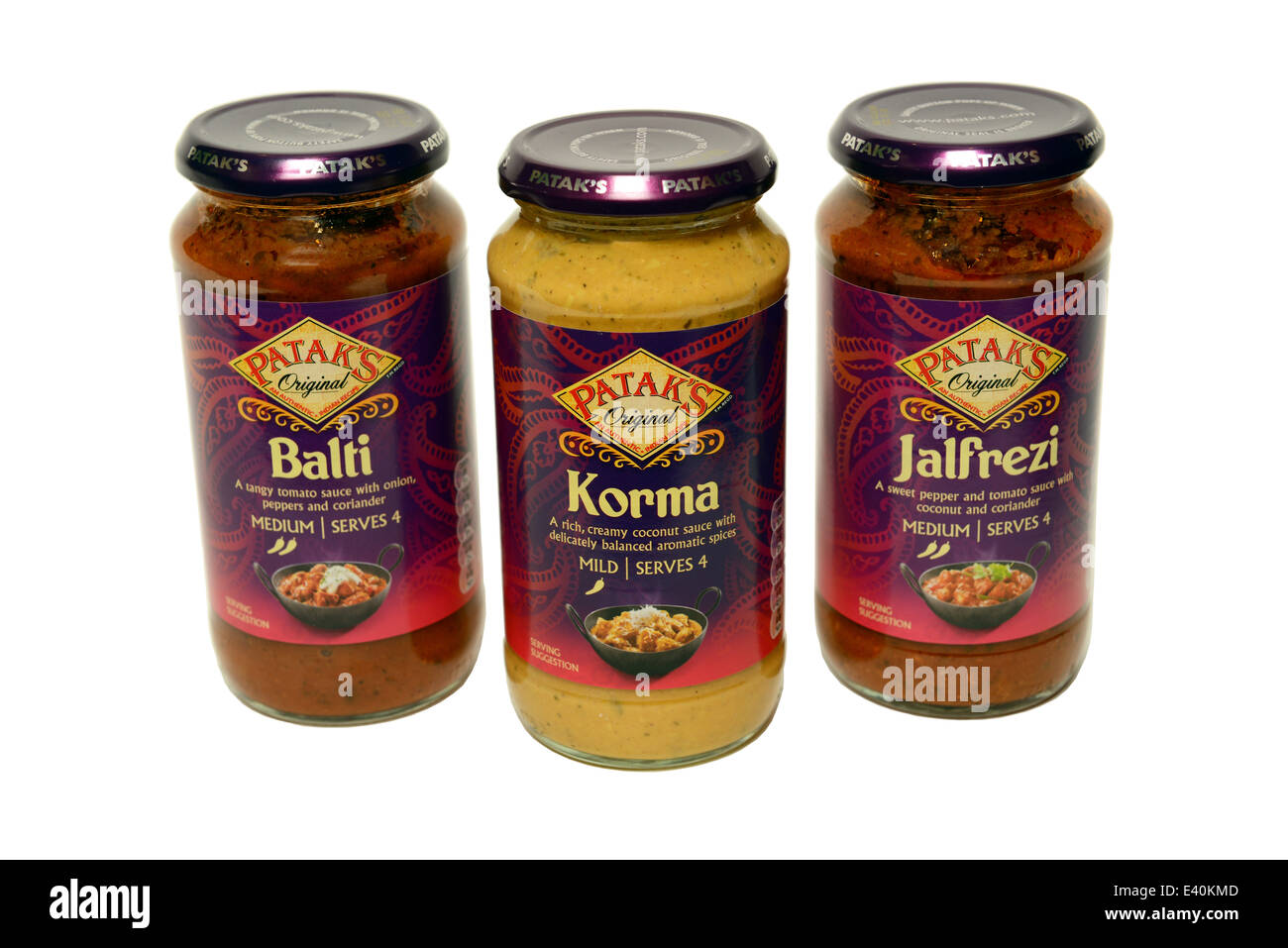 Patak's Curry Sauce - Stock Image