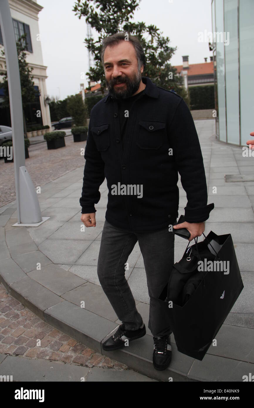 Turkish celebrities out and about Featuring: Oktay Kaynarca Where Stock  Photo - Alamy