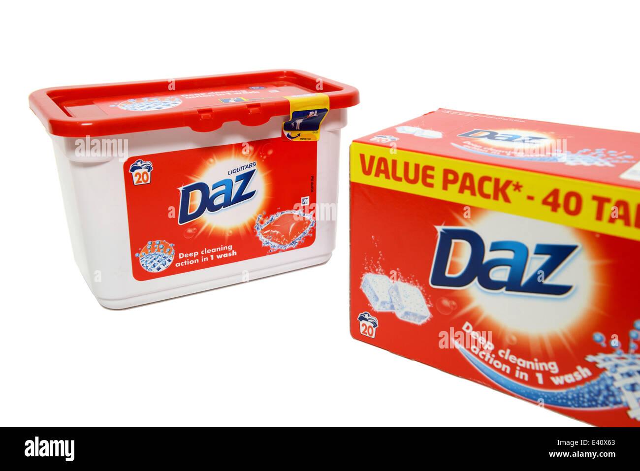 Daz Laundry Detergent - Stock Image