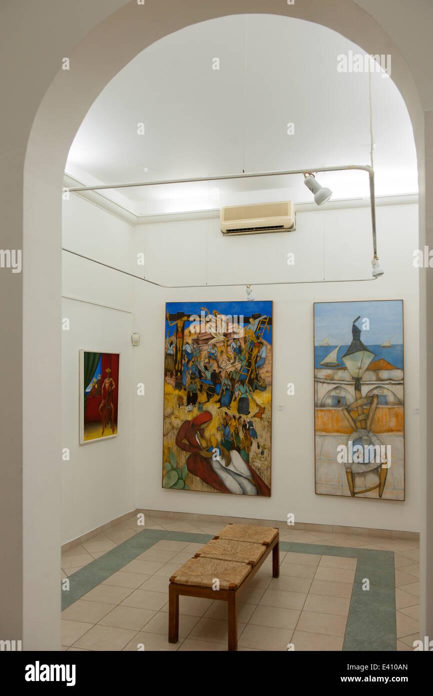 Griechenland, Rhodos-Stadt, Platia Simis, Museum für moderne griechische Kunst Stock Photo