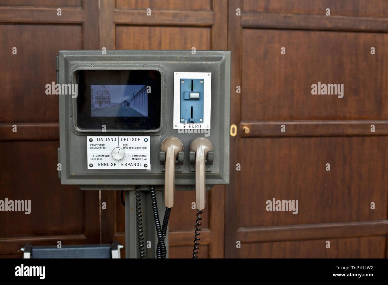 Italy, Tuscany, Pisa, translation appliance - Stock Image