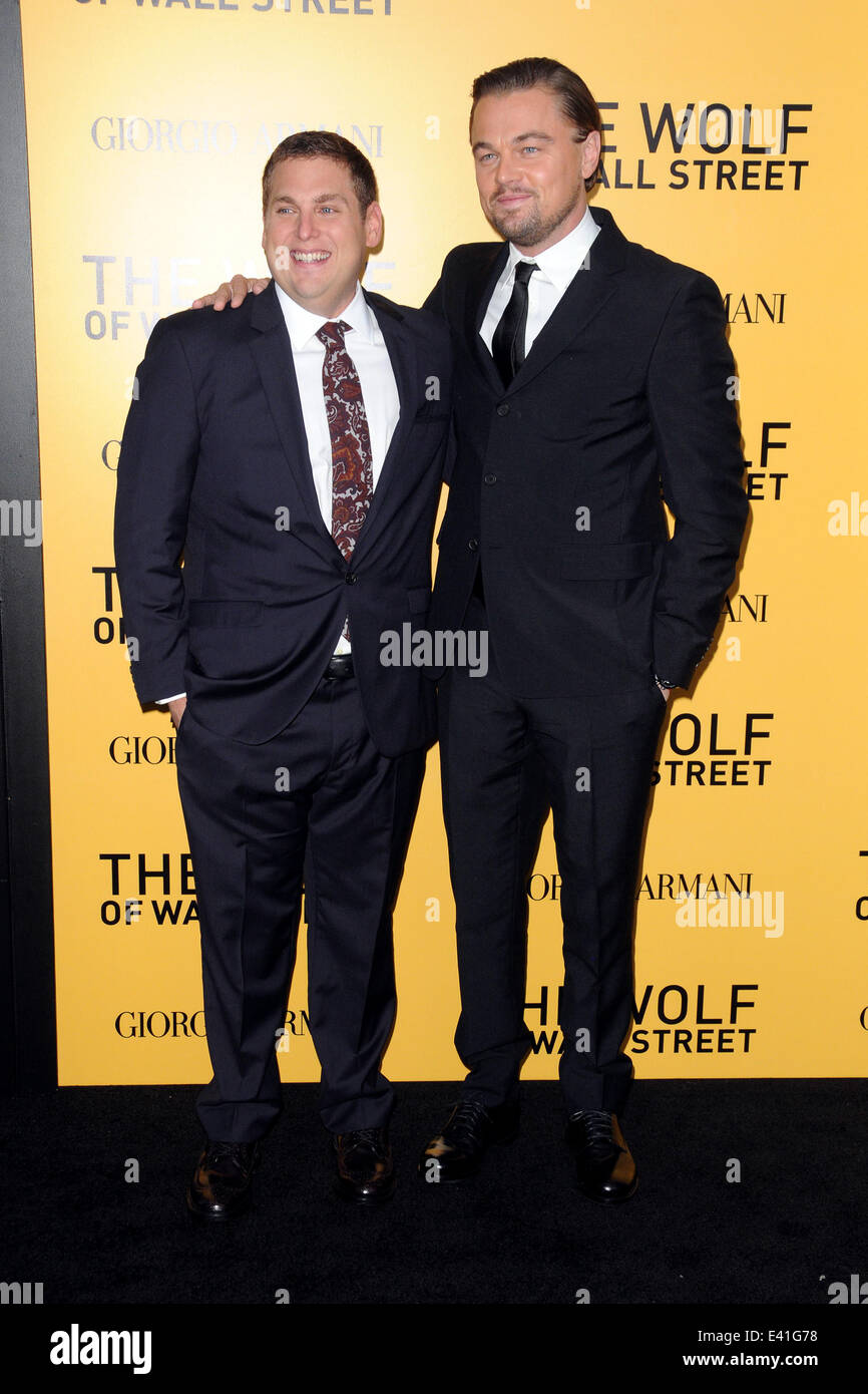 US Premiere of The Wolf Of Wall Street at The Ziegfeld