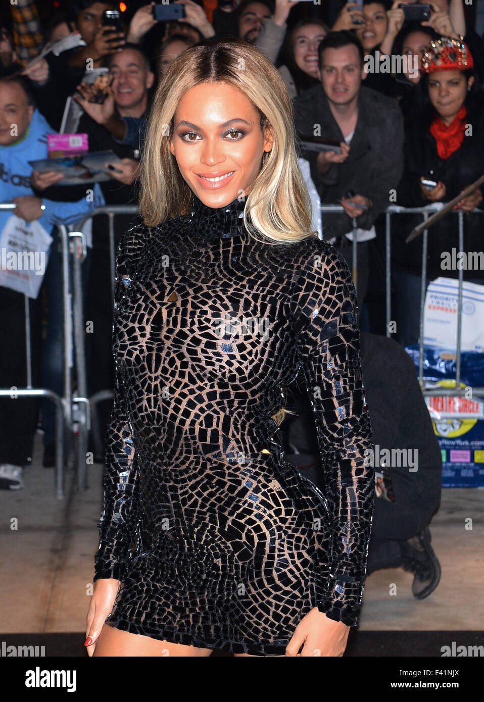 Beyonce Wowed Her Fans Stock Photos Beyonce Wowed Her Fans Stock