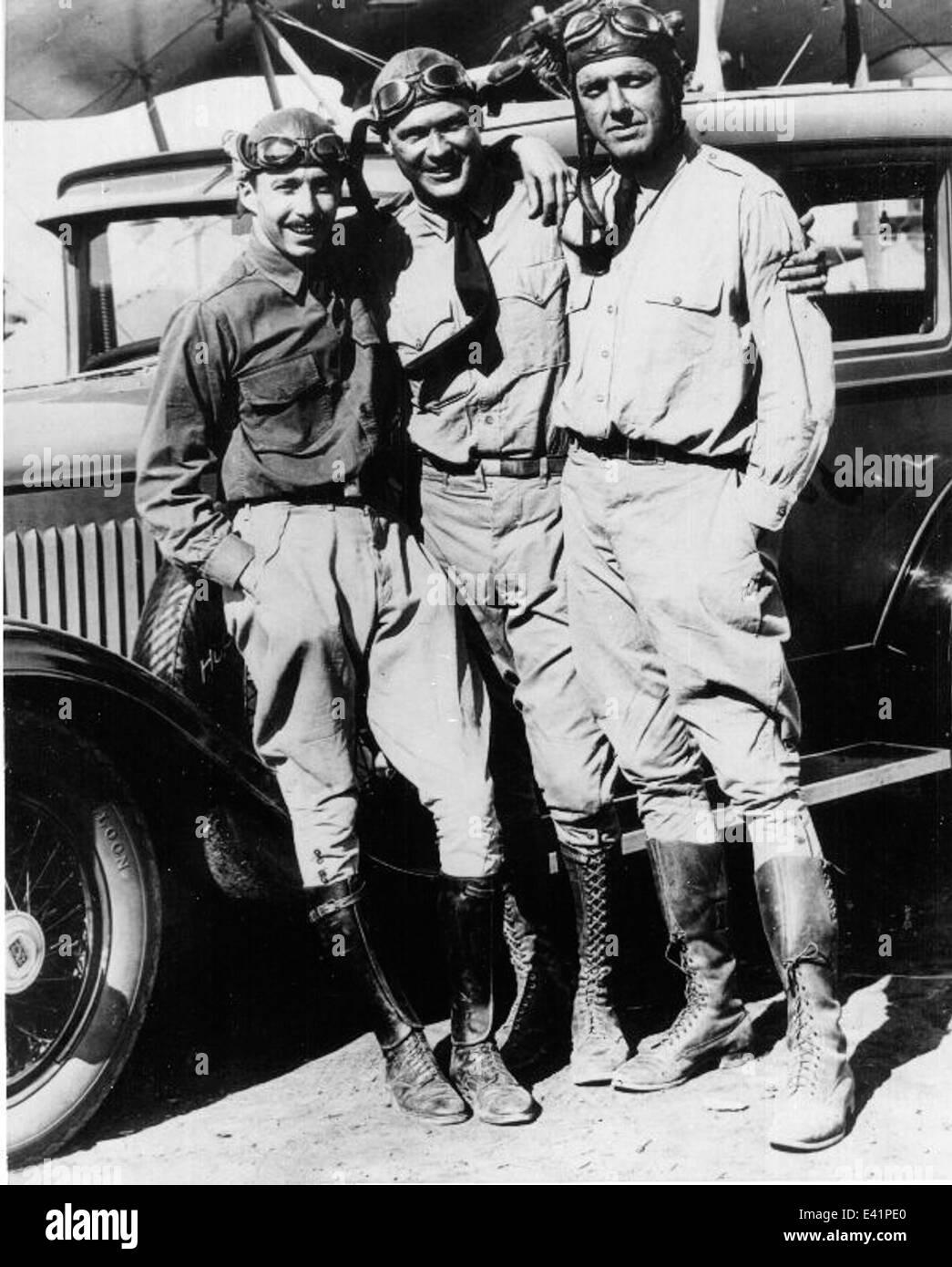 Sea Hawks aerobatic team 1928 - Stock Image