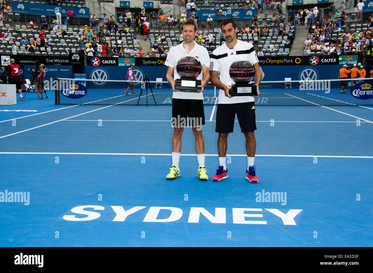 Apia International Sydney Tennis Tournament At The Olympic Park Centre