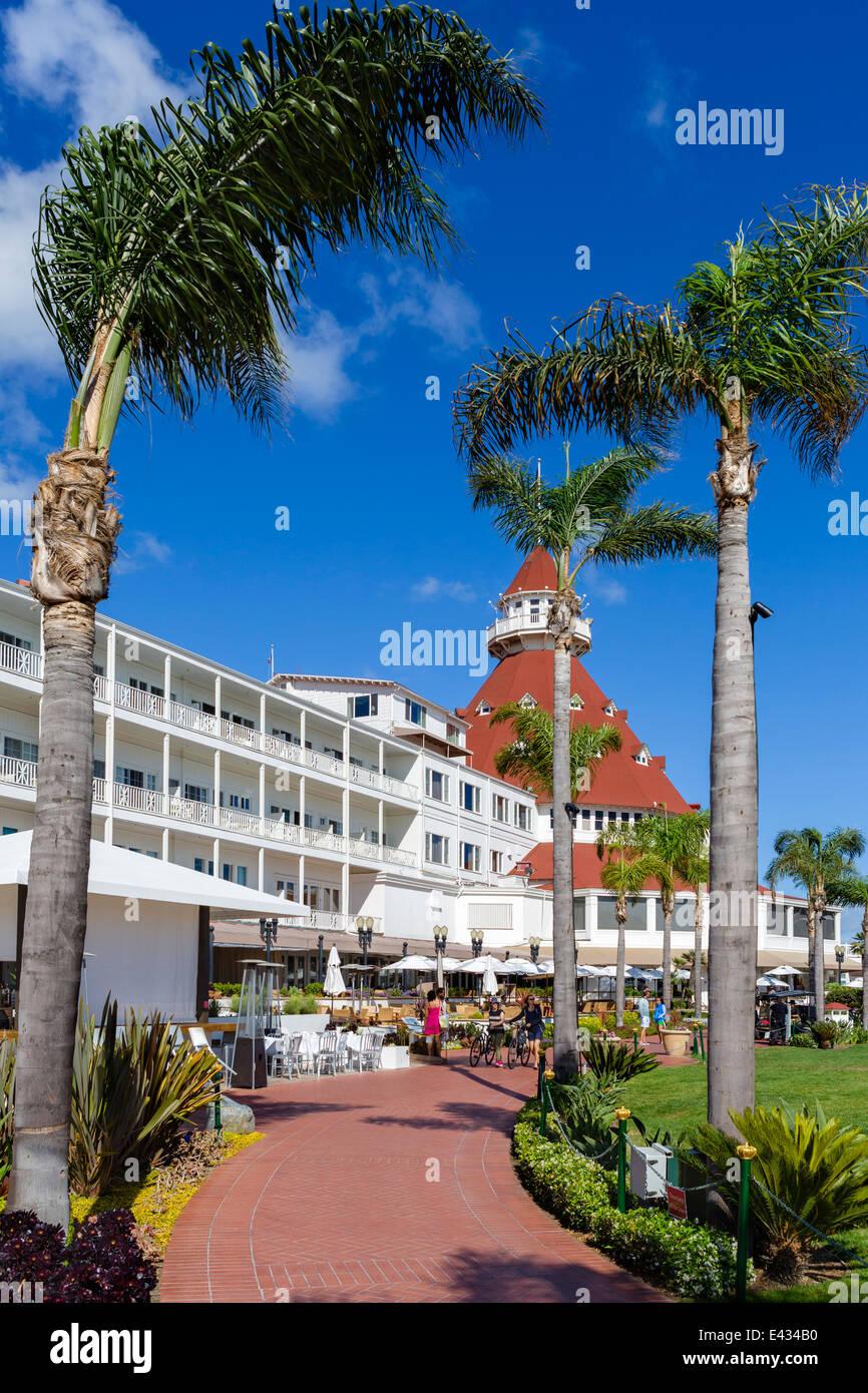 hotel del coronado beach stock photos hotel del coronado. Black Bedroom Furniture Sets. Home Design Ideas