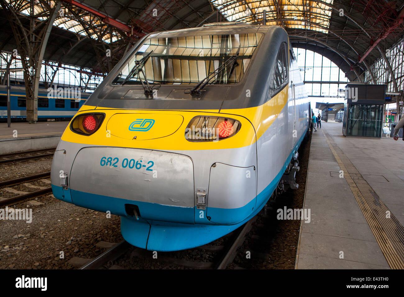 Czech Railways Class 682 Fiat Made Pendolino High Speed