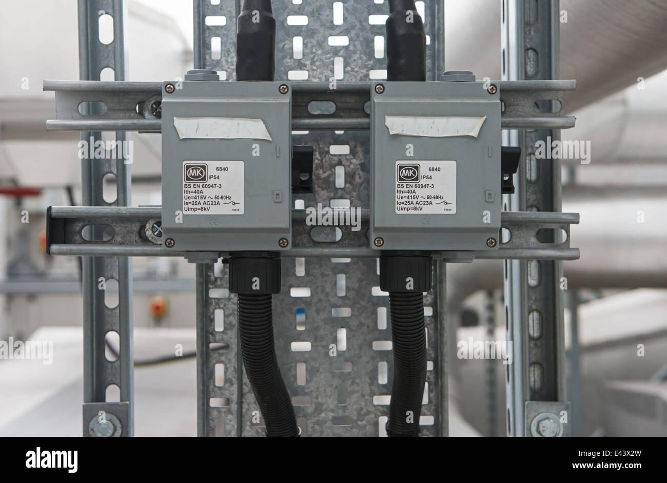 MK isolation Switches - Stock Image