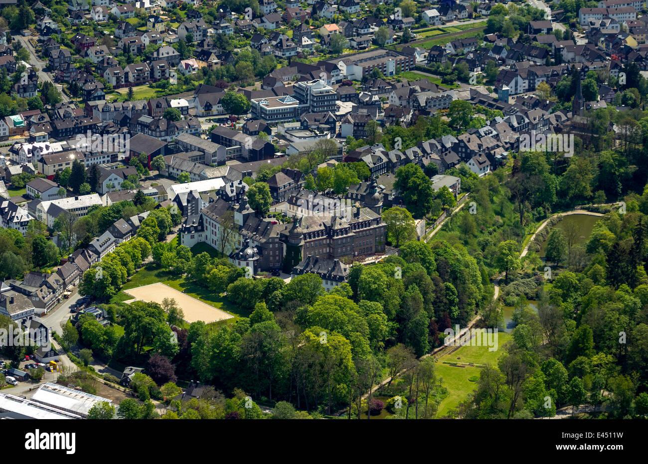 Schloss Berleburg Castle Bad Berleburg Stock Photos & Schloss ...