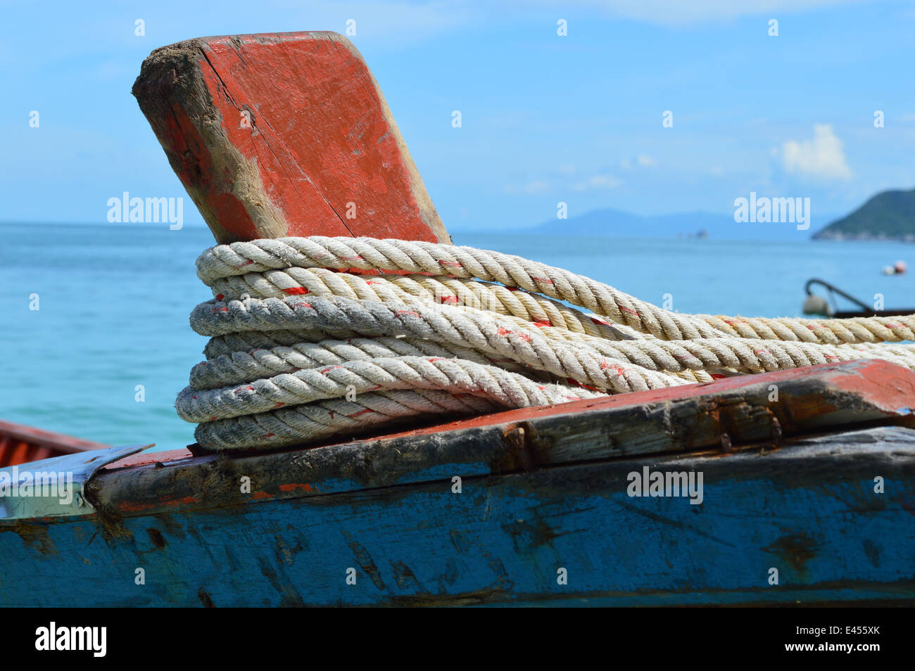 Traditional thai boat, Thailand - Stock Image