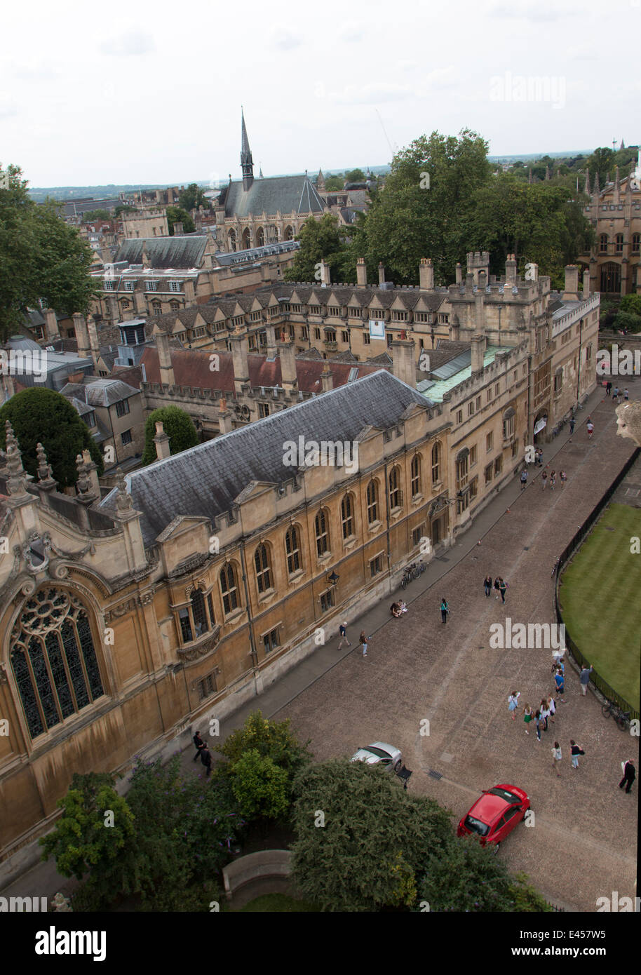 Oxford University Radcliffe Square Brasenose College - Stock Image