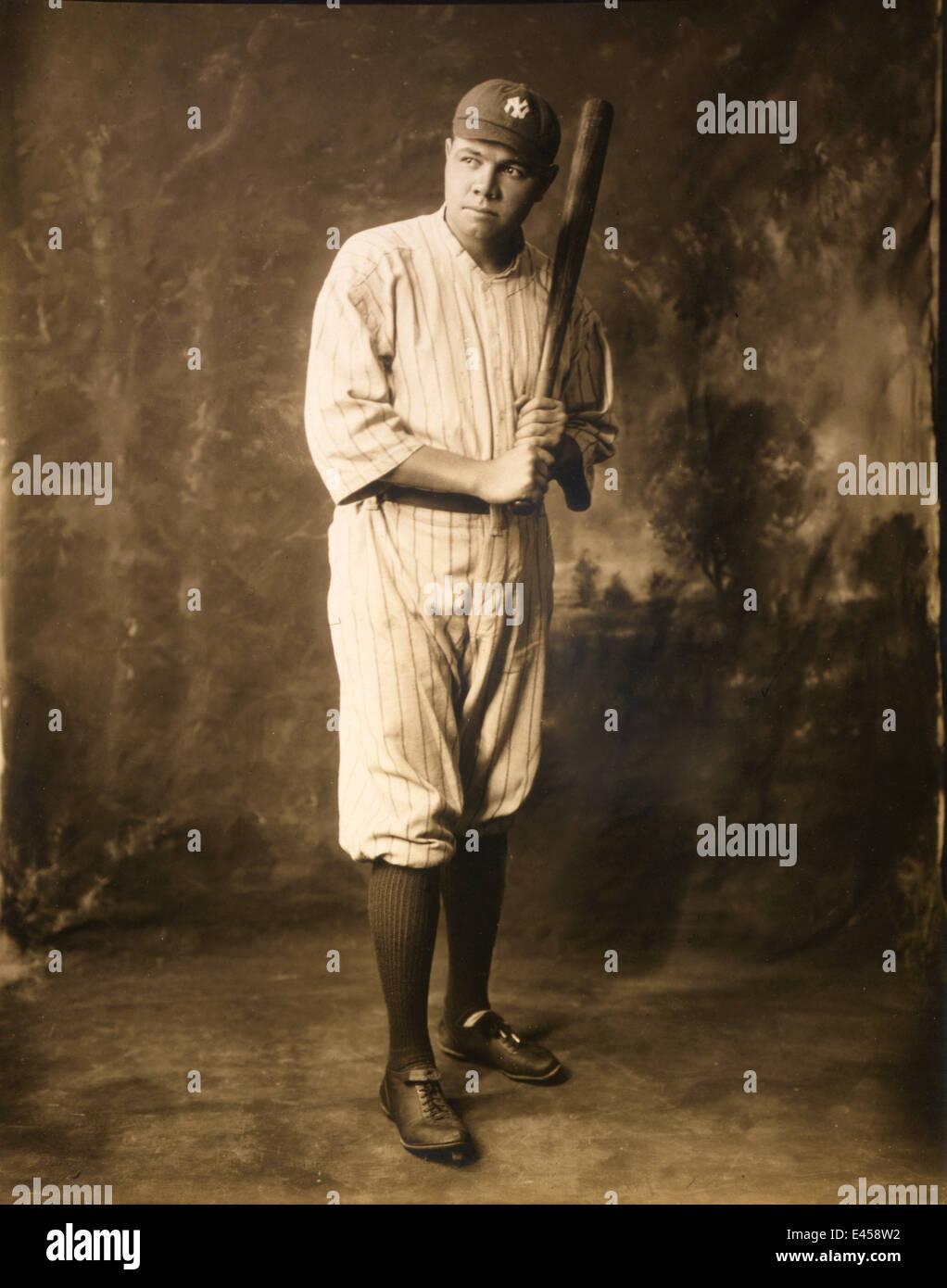 Babe Ruth, American baseball player Babe Ruth - Stock Image