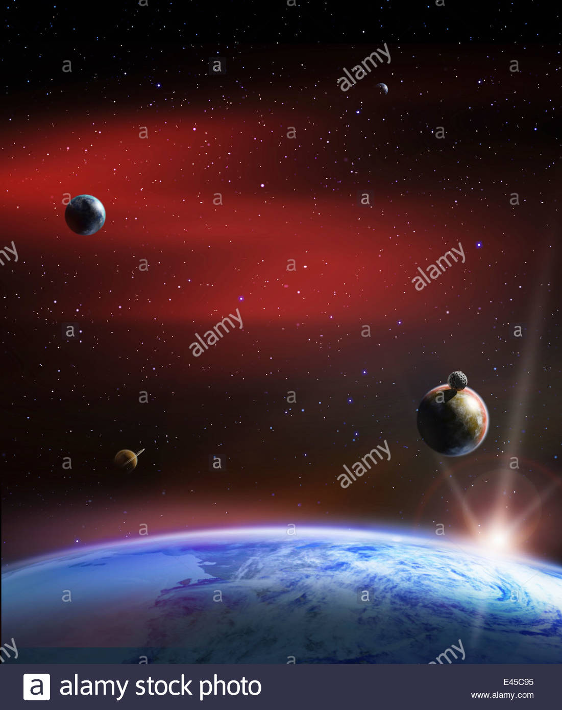 Outer Planets Stock Photos & Outer Planets Stock Images ...