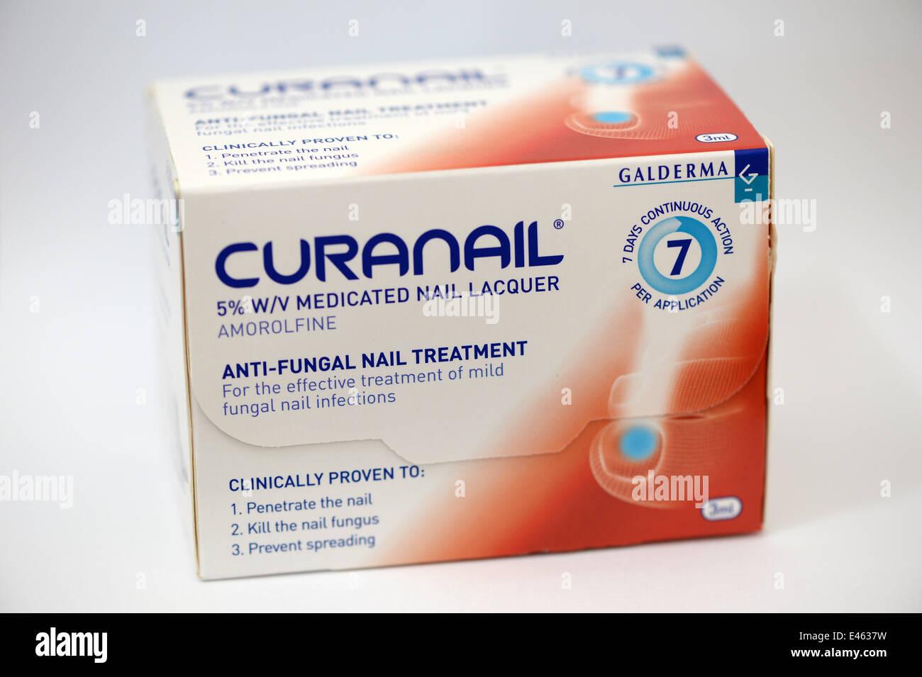 Curanail, fungal nail treatment Stock Photo: 71434381 - Alamy