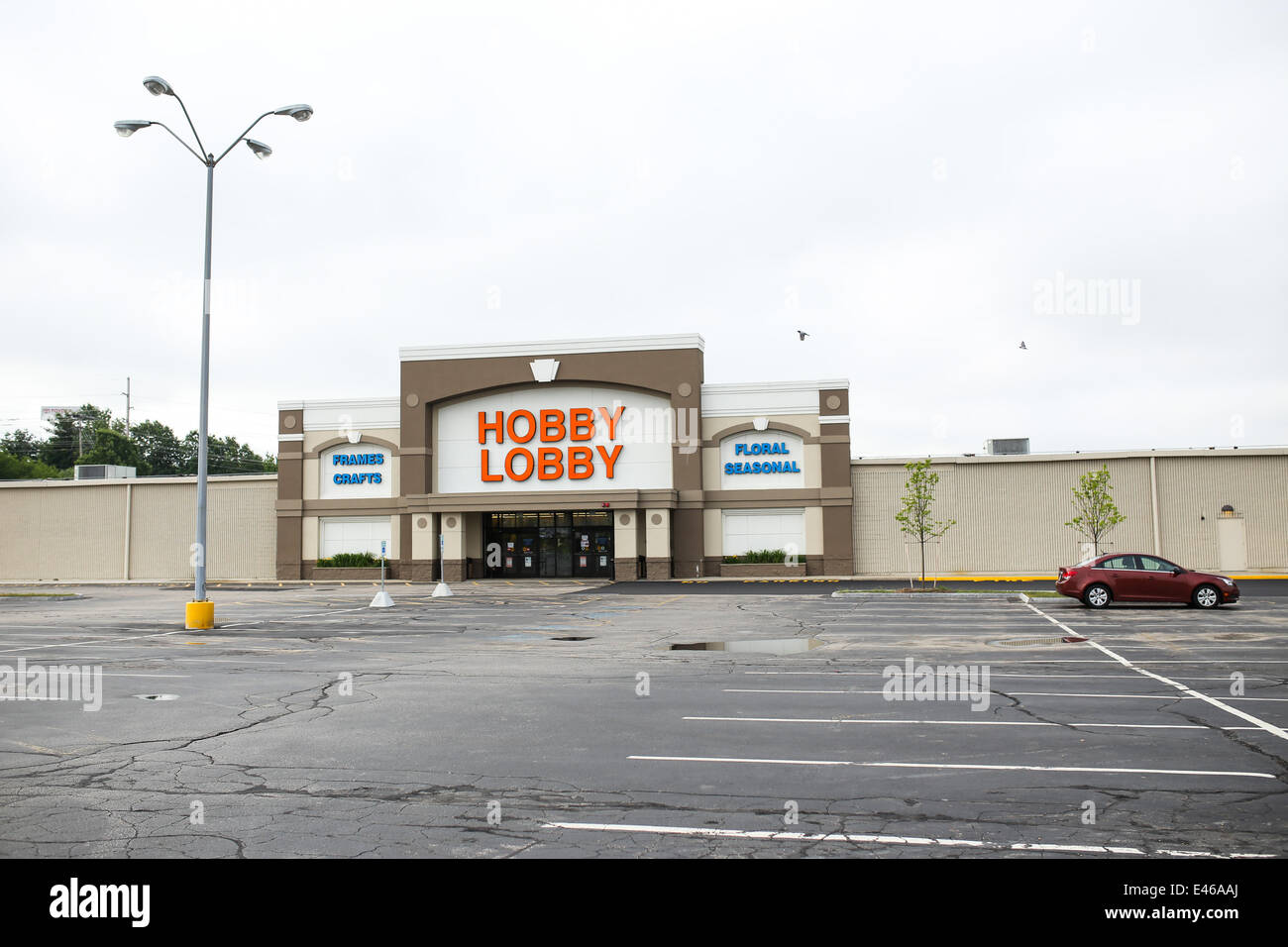 Manchester New Hampshire USA 3rd July 2014 The Hobby Lobby Contraceptive