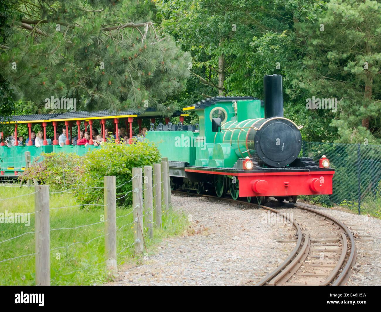 Train at Legoland Windsor, England Stock Photo: 71445301 ...