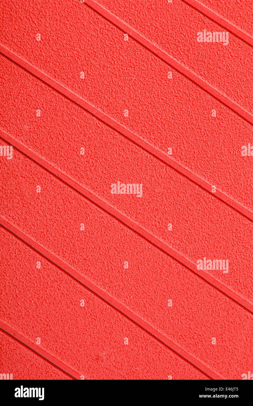 orange stripes background - Stock Image