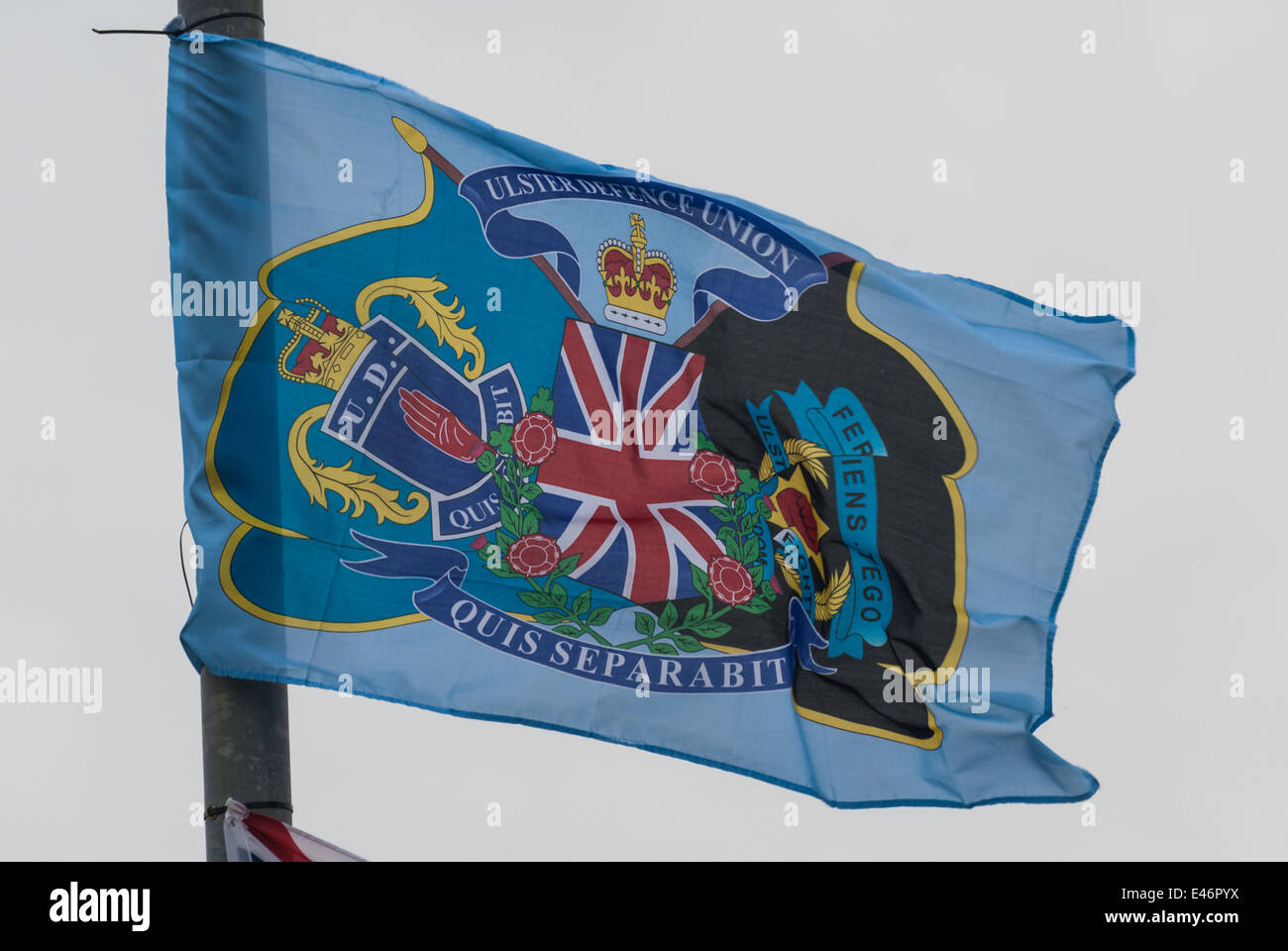 Ulster Defence Union Flag - Stock Image