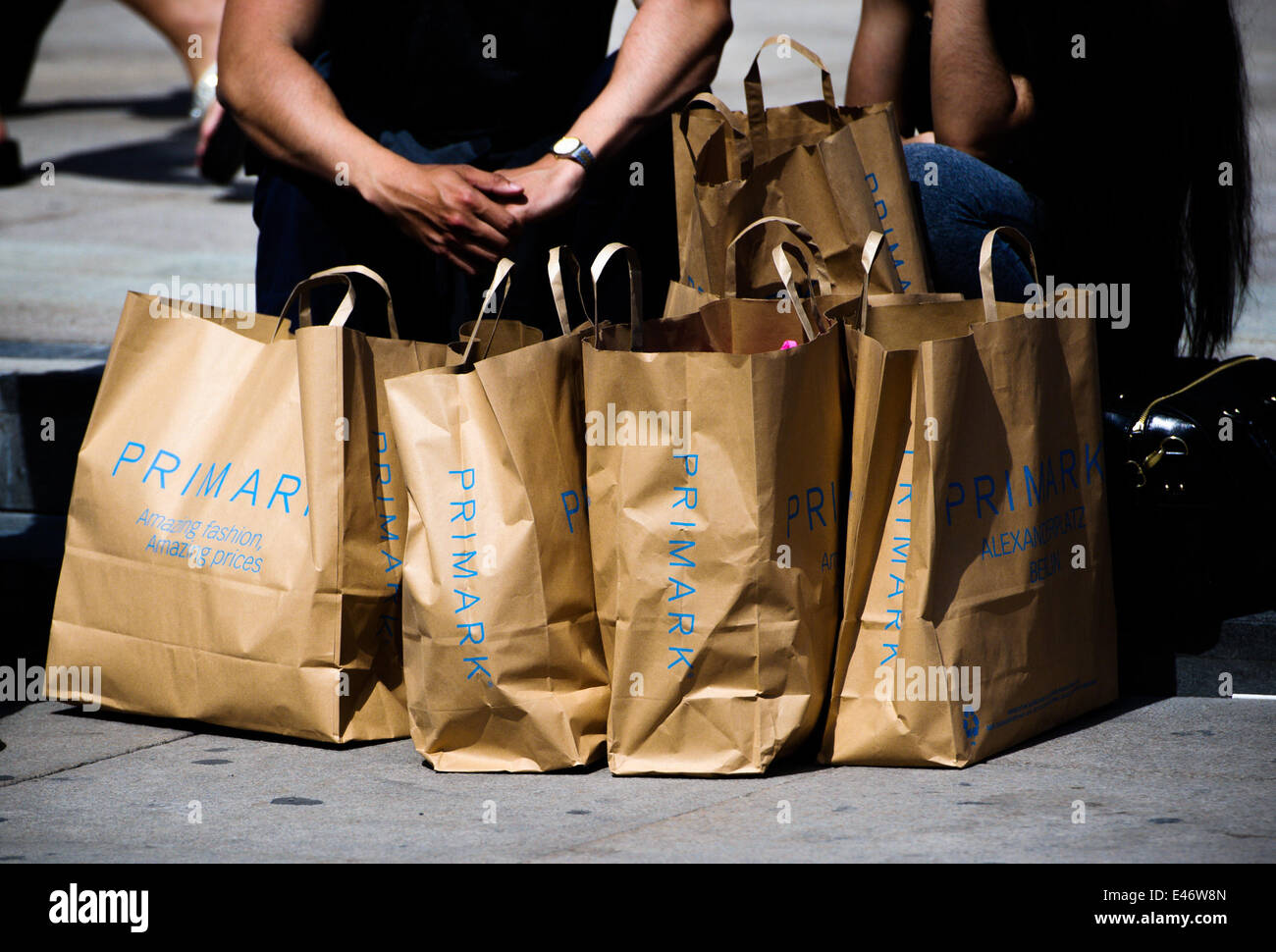 A store of the Irish textile discounter 'PRIMARK', on July 03, 2014 in Berlin, Germany. Photo: picture alliance - Stock Image