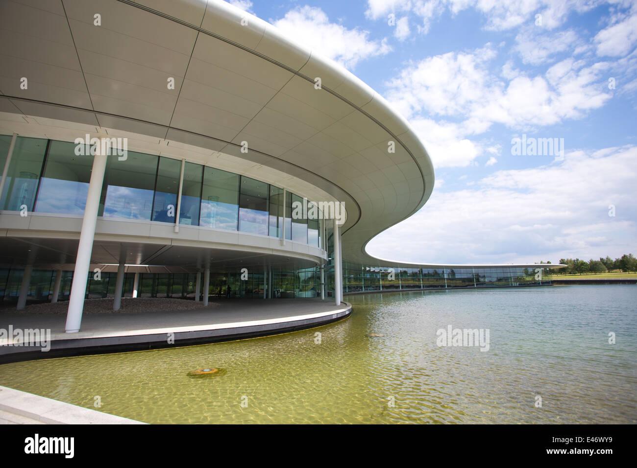 McLaren Technology Centre, Woking, England, Headquarters Building UK - Stock Image