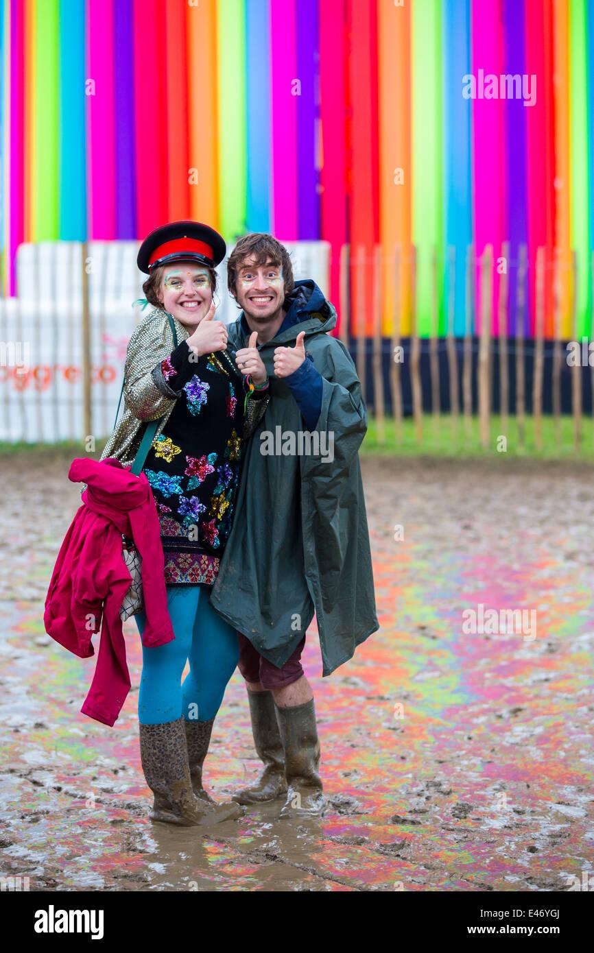 The Style of Glastonbury 2009