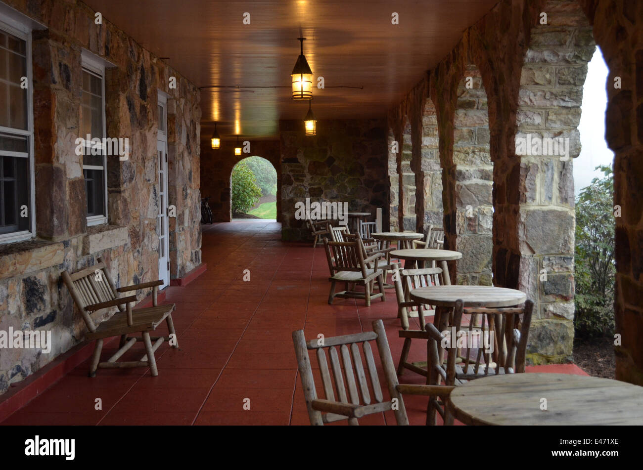Porch At Mountain Lake Lodge In Virgina The Movie Dirty Dancing Was