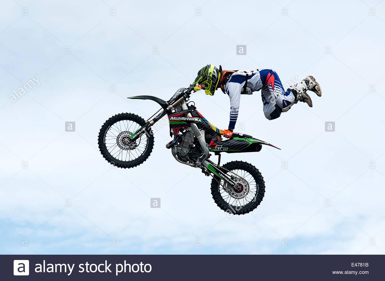 Bike Stunts Stock Photos Bike Stunts Stock Images Alamy