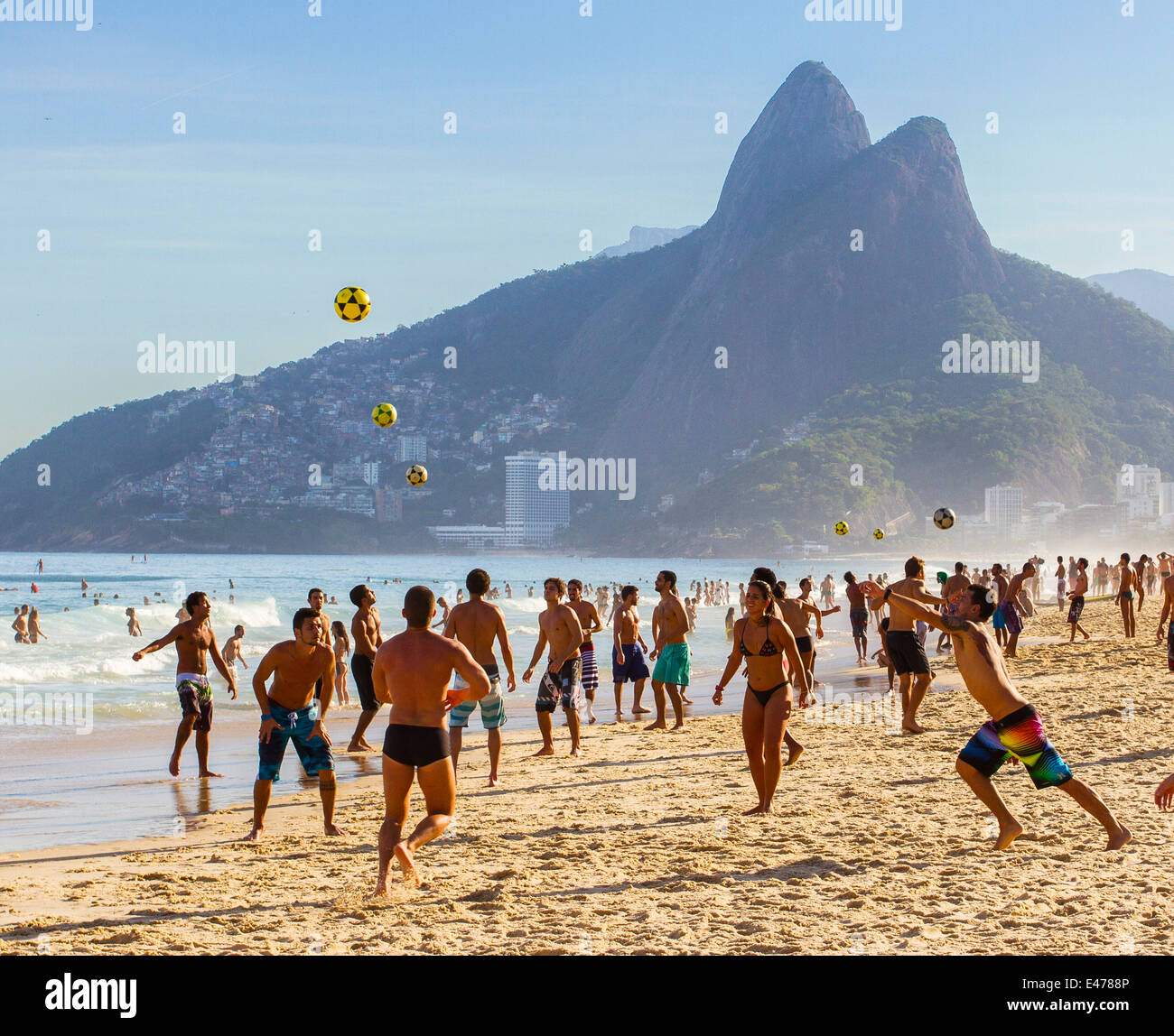 Ipanema, Rio de Janeiro, Brazil - Stock Image