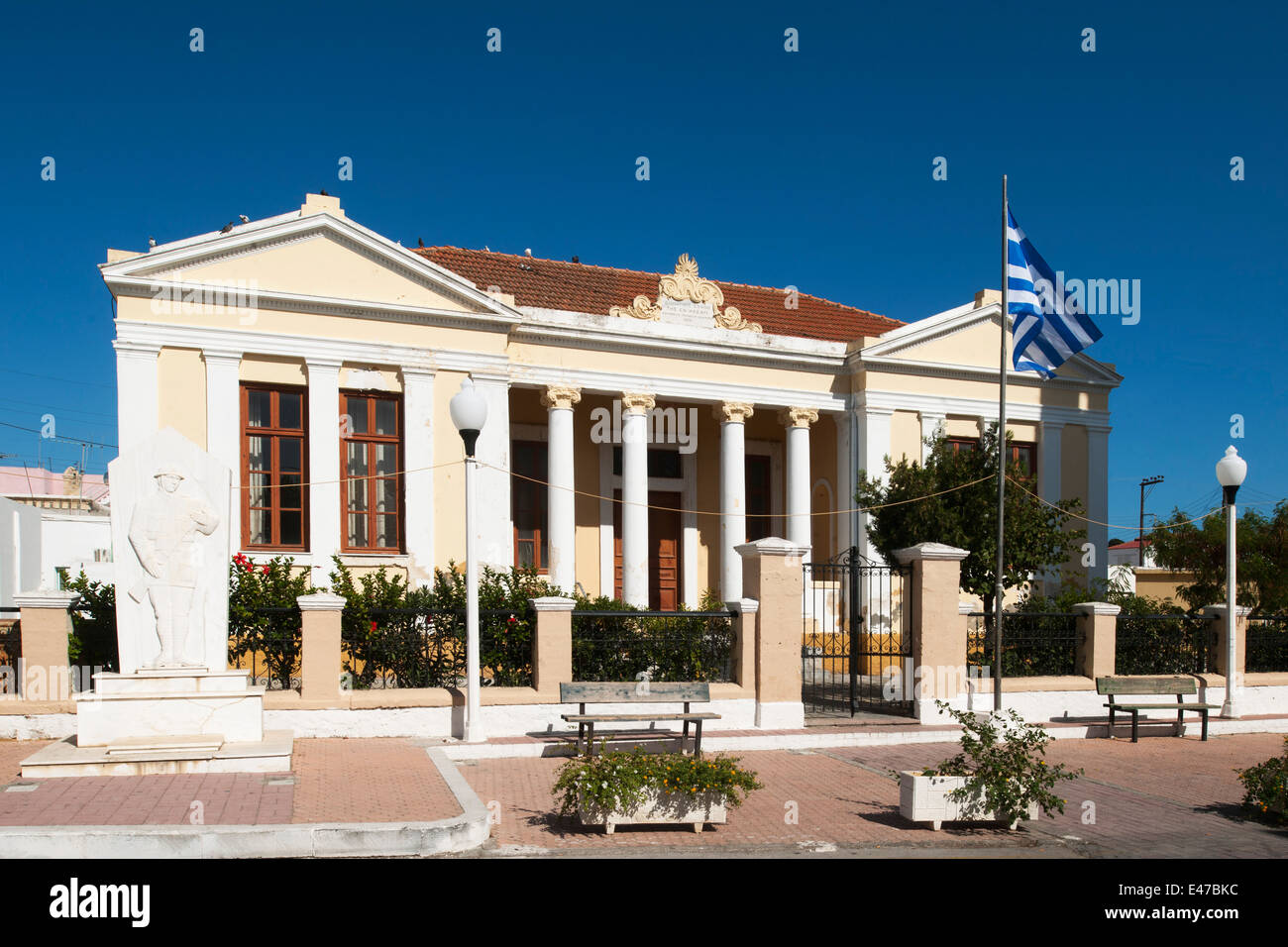 Griechenland, Rhodos, Masari, Rathaus - Stock Image