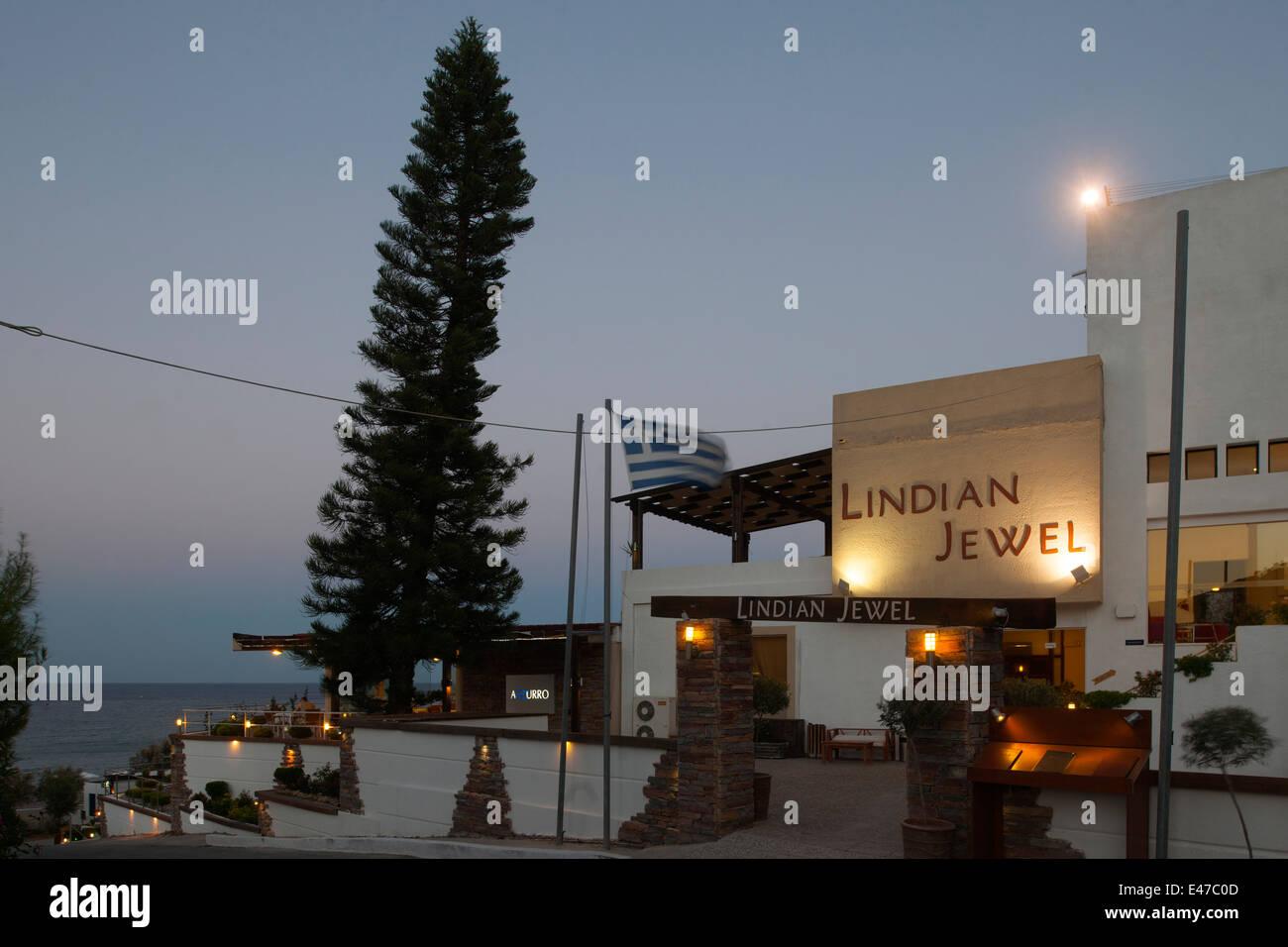 Griechenland, Rhodos, Vlicha, Hotel Lindian Jewel - Stock Image