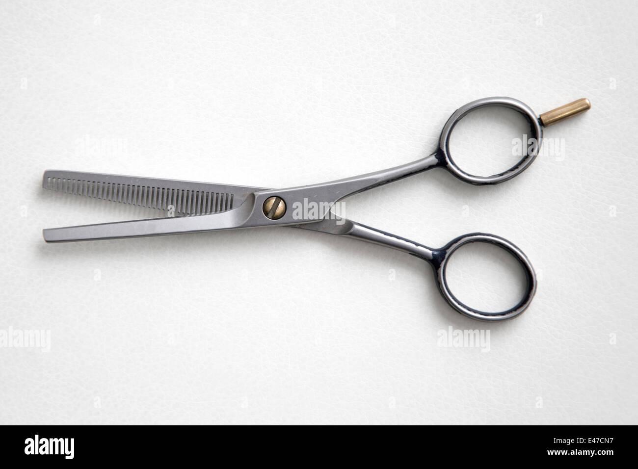 Hairdresser scissors - Stock Image
