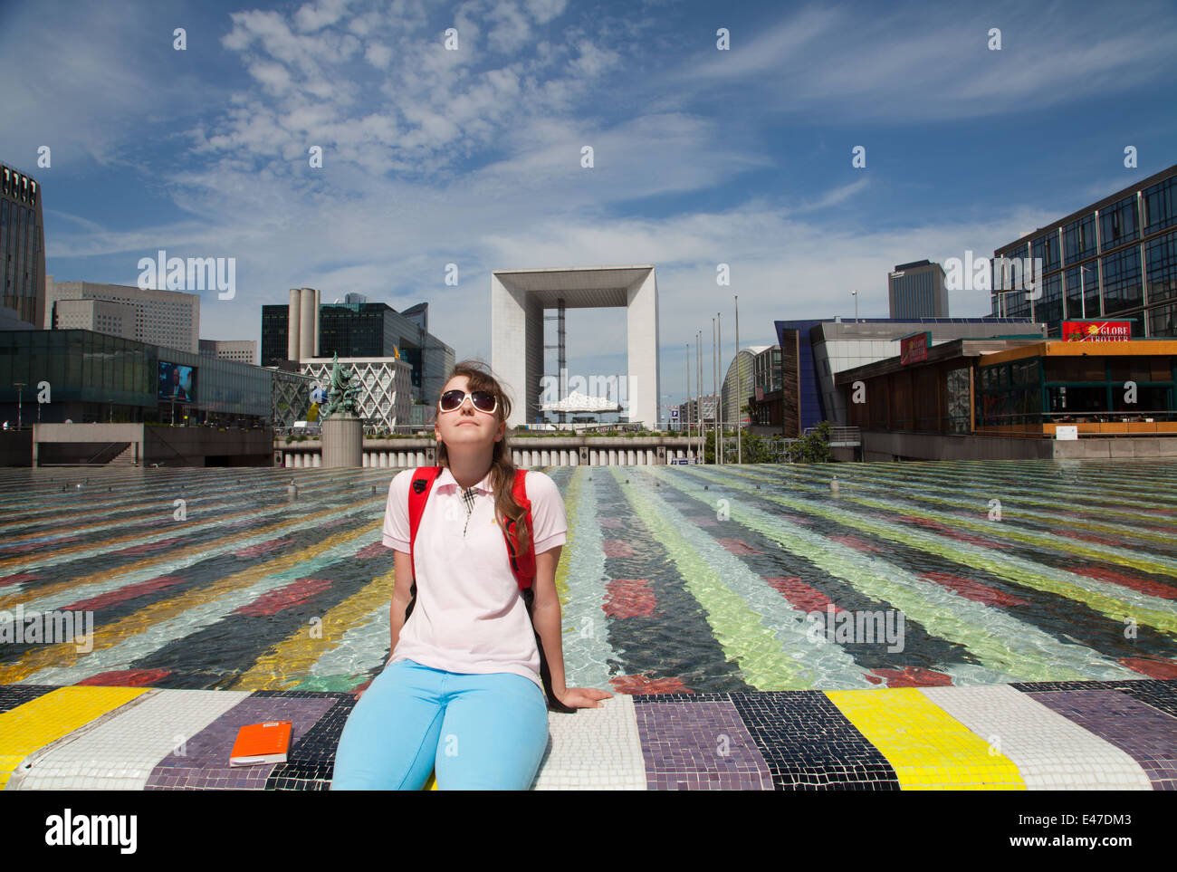 La Défense, Paris, France. - Stock Image