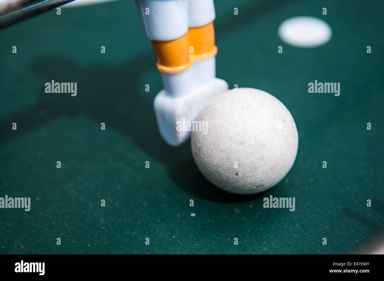 Table Football ball - Stock Image